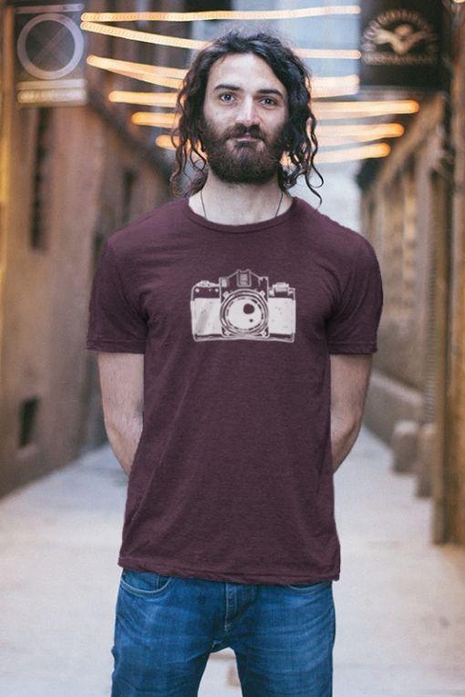 Cámara - camiseta unisex 1