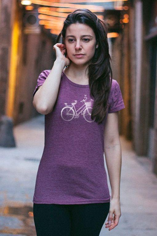 Bici - camiseta mujer 1