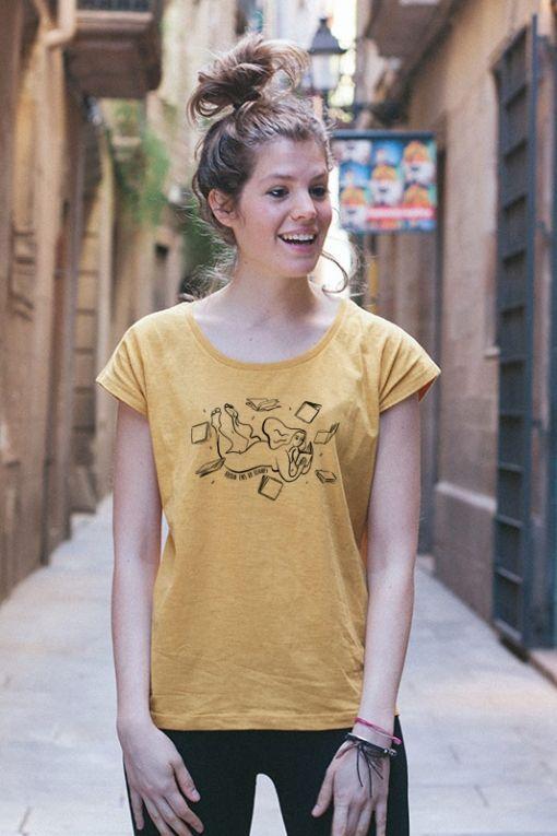 Leer - camiseta mujer 1
